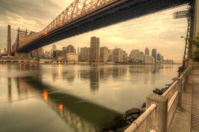 Плакат Queensboro Bridge