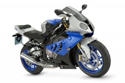 Плакат Гонки мотоциклов