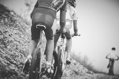 Плакат Ragazzo Ciclista гара ди Mountainbike