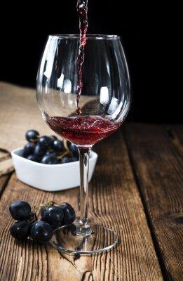 Плакат Красное вино