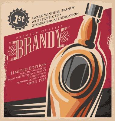 Плакат Ретро напиток творческий печатных СМИ Понятие