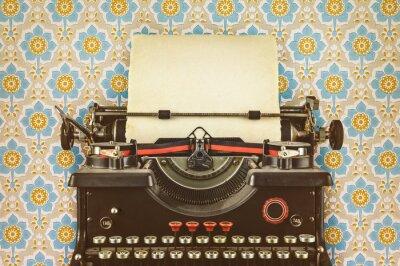 Плакат Ретро стиль изображения старой машинке