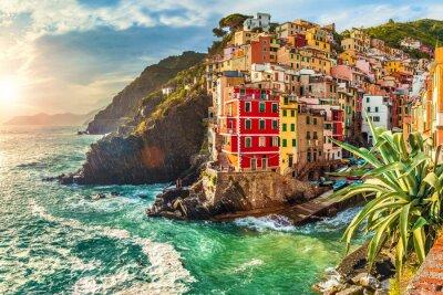 Плакат Риомаджоре, Чинкве Терре, Италия