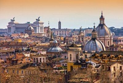 Плакат Рим