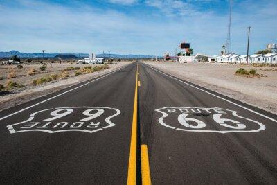 Плакат Route 66 знак