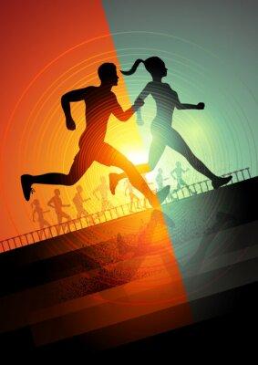Плакат Запуск команды