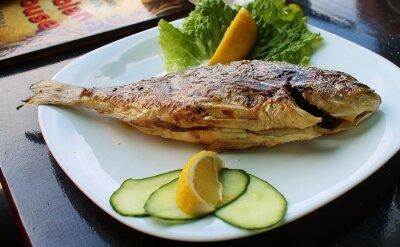 Плакат Рыба г grilla