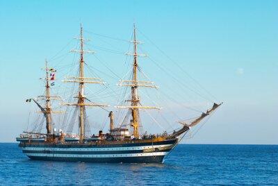 Плакат Парусное судно