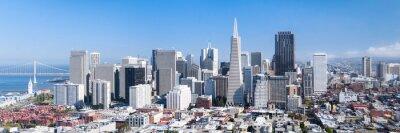 Плакат Сан - Франциско Панорама