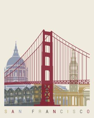 Плакат Сан - Франциско горизонт постер