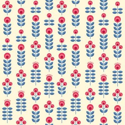 Плакат Скандинавские цветы
