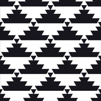 Плакат бесшовные геометрический узор