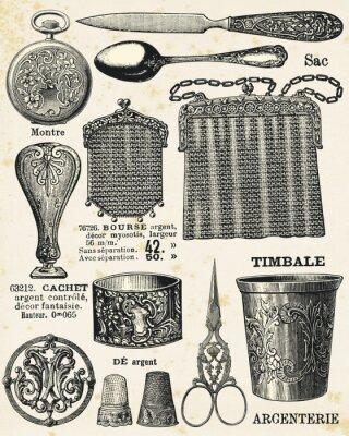 Плакат Столовое серебро