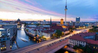 Плакат Skyline Берлин, Блик ауф-ден-Александерплац