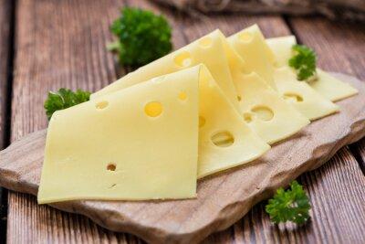 Плакат Ломтики сыра