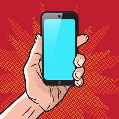 Плакат Смартфон в руке