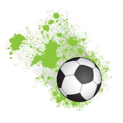 Плакат Футбольный мяч