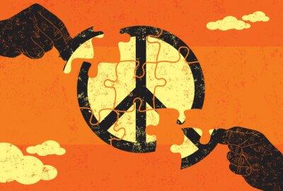 Плакат Решение для мира