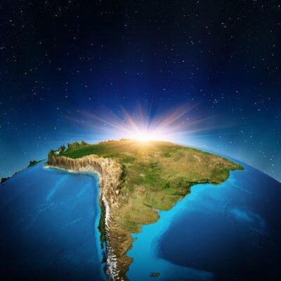 Плакат Южная Америка