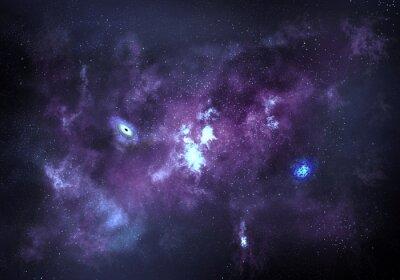 Плакат Космическая фон