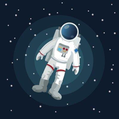 Плакат Космический дизайн иконок