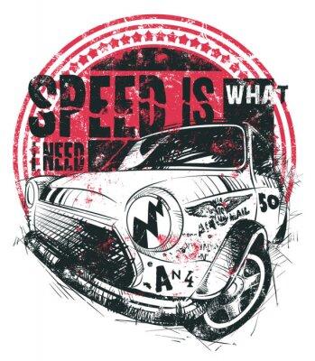 Плакат Скорость это то, что мне нужно