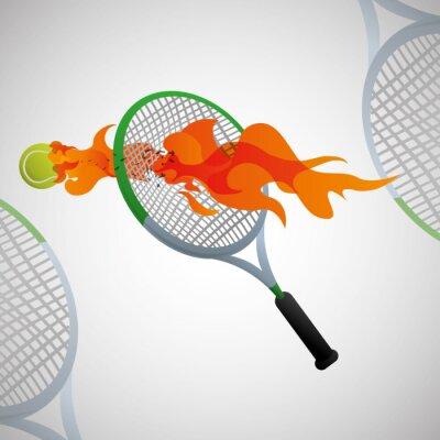 Плакат дизайн Спорт значок