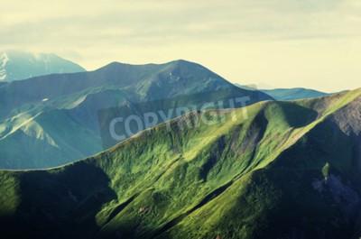 Плакат Летние зеленые холмы