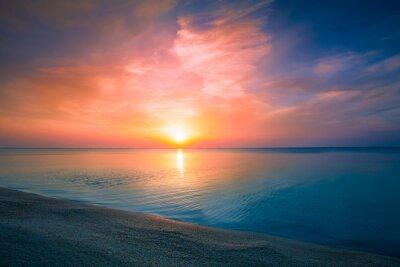 Плакат Восход солнца над морем