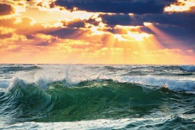 Плакат Восход Wave