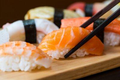 Плакат Суши набор, японская кухня