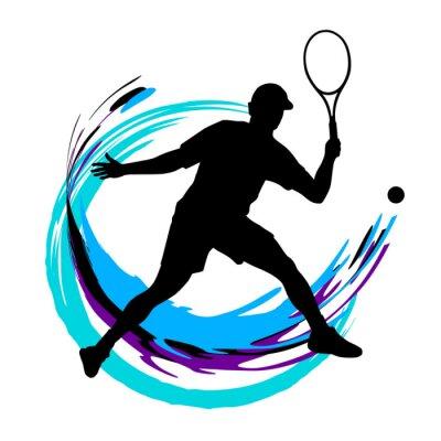 Плакат Теннис - 197