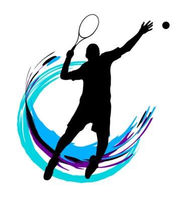 Плакат Теннис - 199