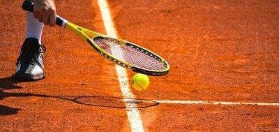 Плакат Теннис
