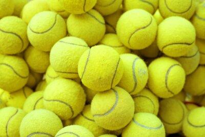 Плакат теннисный мяч