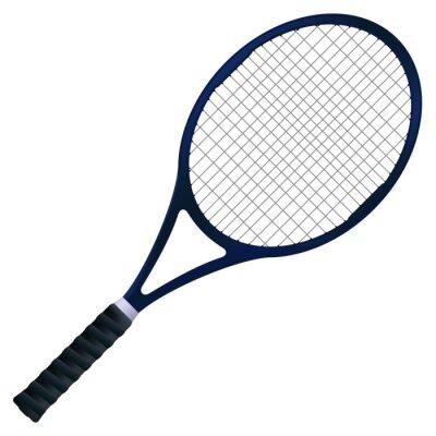Плакат Теннисная ракетка