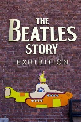 Плакат Музей истории The Beatles в Ливерпуле выставка