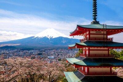 Плакат Гора Фудзи, Япония