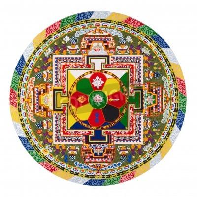 Плакат Тибетский мандалы
