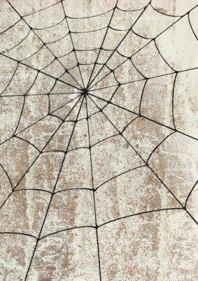 Плакат TOILE surd'araignée ип Mur. уличное искусство