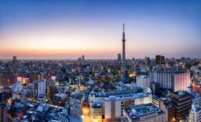 Плакат Токио Skyline мит Skytree