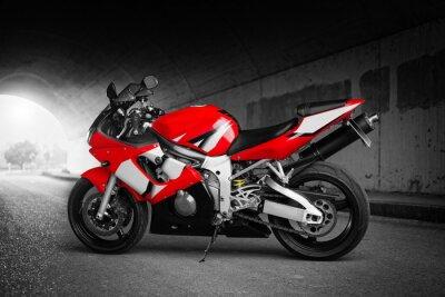 Плакат Максимальная скорость (красный)
