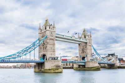 Плакат Тауэрский мост в Лондоне, Великобритания