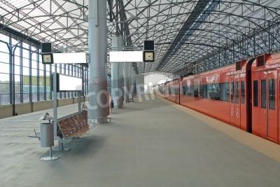 Плакат Train station Sheremetyevo, Moscom, Russia