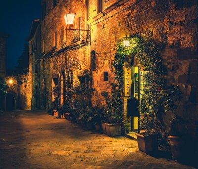 Плакат Тосканский ресторан в Пиенцы