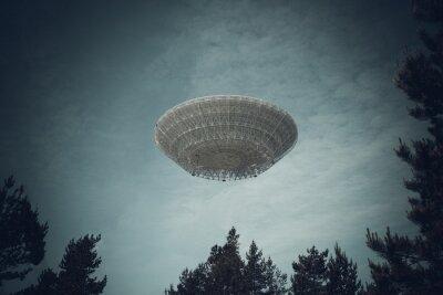 Плакат Неопознанный летающий объект