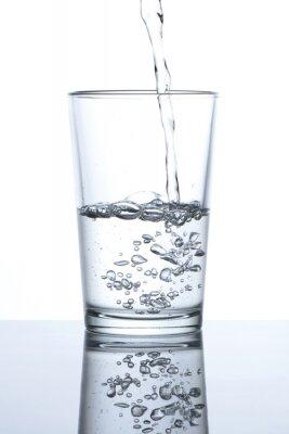 Плакат Васо кон Agua