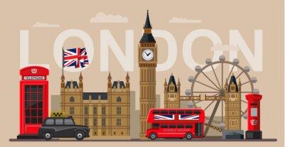 Плакат вектор великобритания