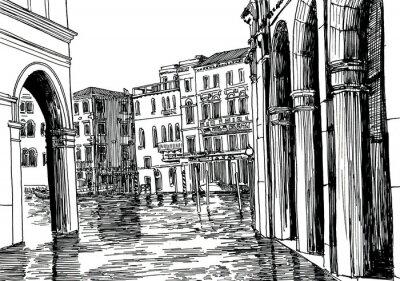 Плакат Венеции