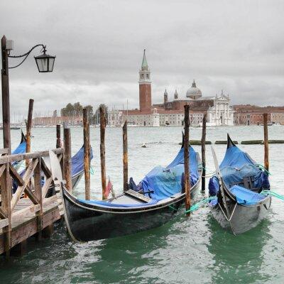 Плакат Венеция на пасмурный день